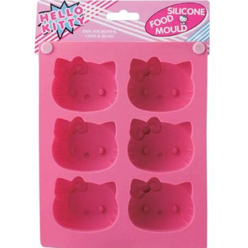moule muffins en silicone hello kitty achat vente. Black Bedroom Furniture Sets. Home Design Ideas