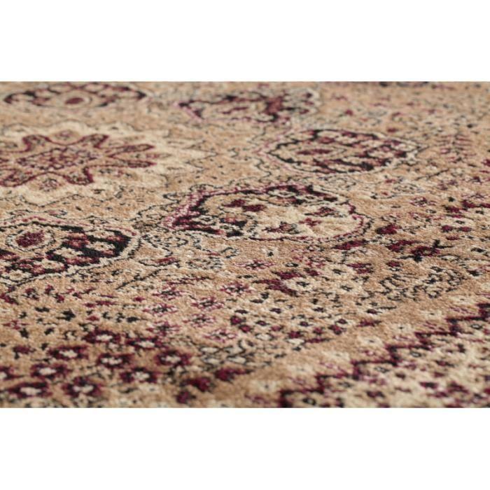 tapis orientale marrakesh 0207 beige 300 x 400 cm achat vente tapis cdiscount. Black Bedroom Furniture Sets. Home Design Ideas