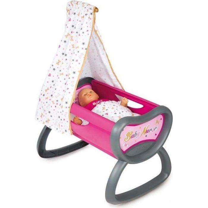 baby nurse bercelonnette lit bascule achat vente accessoire poupon cdiscount. Black Bedroom Furniture Sets. Home Design Ideas
