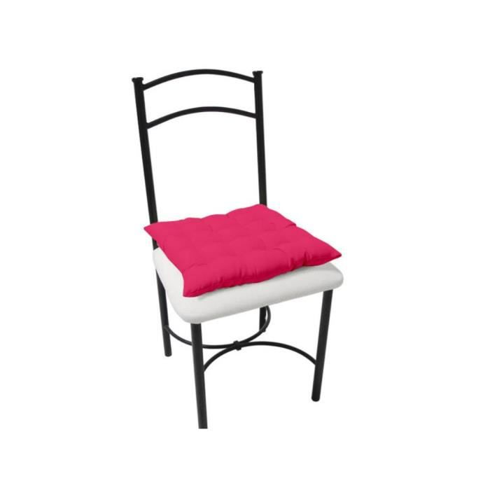 Dessus de chaise capitonn alix framboise achat vente - Dessus de chaise ...