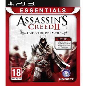 JEU PS3 Assassin's Creed 2 Goty Essentials Jeu PS3