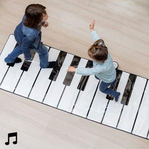 TABLE JOUET D'ACTIVITÉ Jeu tapis piano musical sonore geant pour enfant M