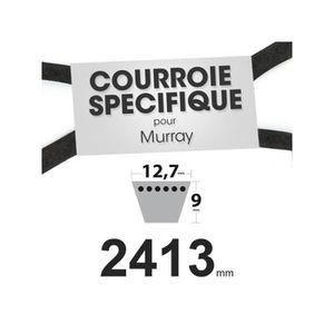 DÉBROUSSAILLEUSE  Courroie spécifique 12,7 mm x 2413 mm rempl. Murra