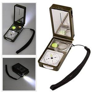 OUTILLAGE DE CAMPING Thermomètre Kit de Survie Armée LED extérieur Comp