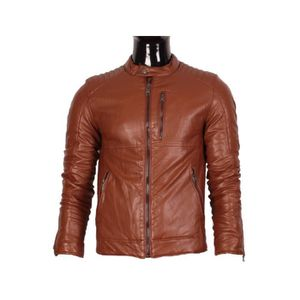 veste homme simili cuir achat vente veste homme simili cuir pas cher cdiscount. Black Bedroom Furniture Sets. Home Design Ideas