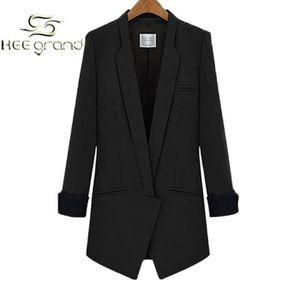 veste tailleur longue femme achat vente veste tailleur longue femme pas cher soldes. Black Bedroom Furniture Sets. Home Design Ideas