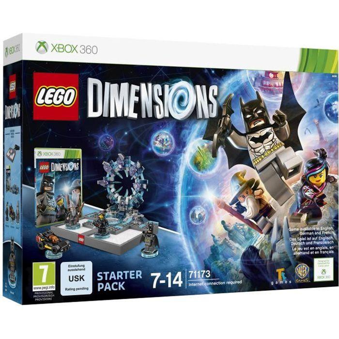 Lego dimensions pack de d marrage xbox 360 achat vente jeux xbox 360 lego dimensions - Jeux de lego sur jeux info ...