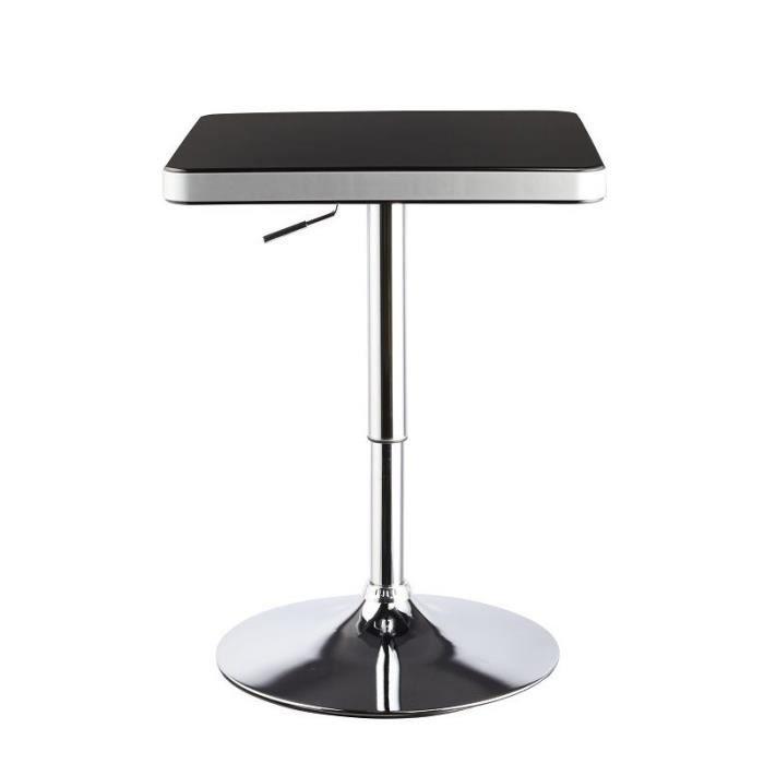 Table de bar bistrot hauteur r glable 2009011 achat - Table de jardinage en hauteur ...