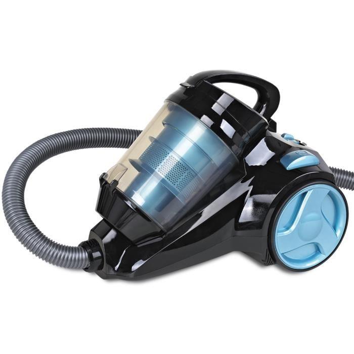 aspirateur sans sac silencieux h koenig slc80 bleu achat vente aspirateur traineau cdiscount. Black Bedroom Furniture Sets. Home Design Ideas