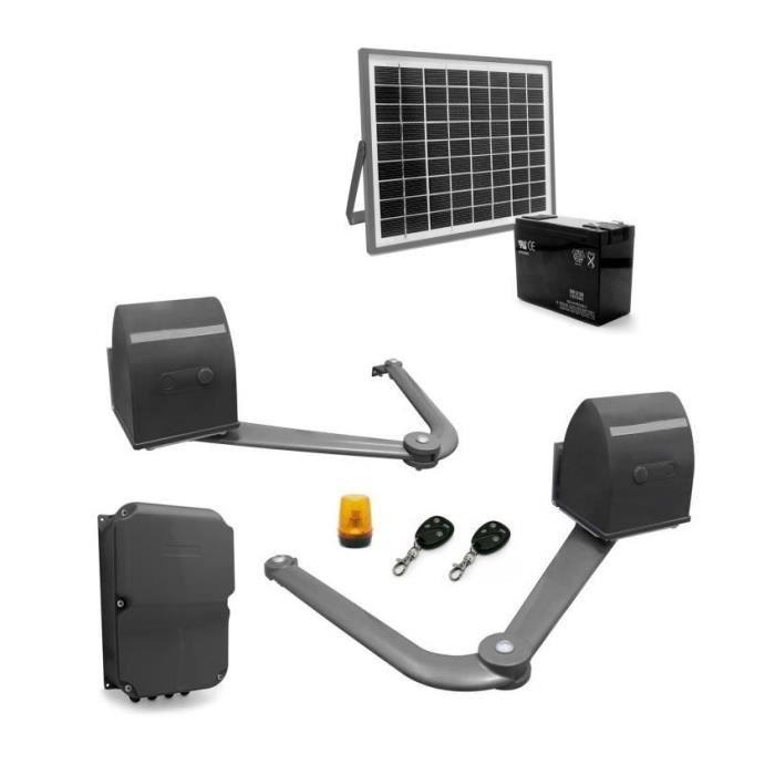 motorisation portail solaire achat vente motorisation portail solaire pas cher les soldes. Black Bedroom Furniture Sets. Home Design Ideas