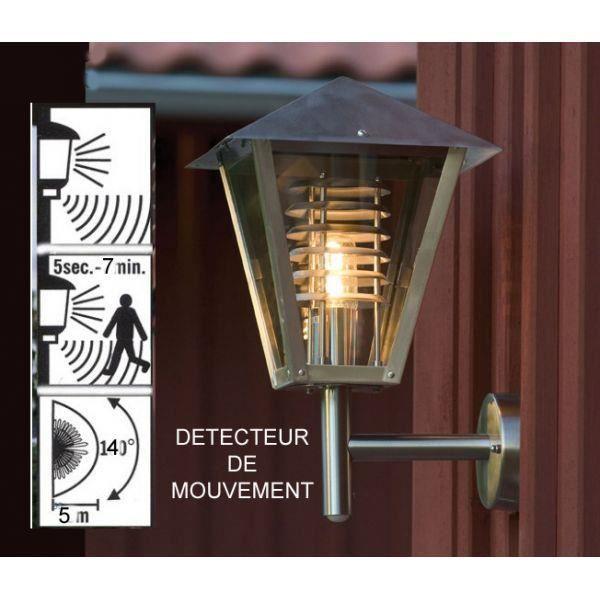 Eclairage exterieur capri detecteur mouvement achat for Eclairage exterieur en applique