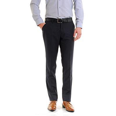 pantalon homme classique a pinces marine achat vente pantalon cdiscount. Black Bedroom Furniture Sets. Home Design Ideas