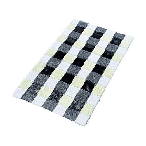 ridder 7304070 350 tapis de bain carr cotton rayon gris 70 x 120 cm achat vente tapis de. Black Bedroom Furniture Sets. Home Design Ideas