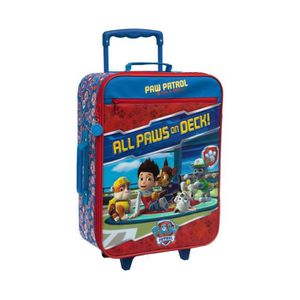 VALISE - BAGAGE PAW PATROL Valise Trolley 2 roues Souple 50 cm Ble