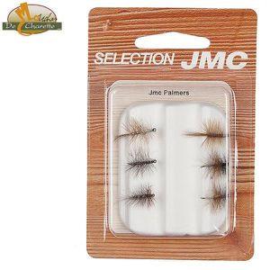 SELECTION MOUCHES DE PECHE JMC PALMERS - PACK DE 6