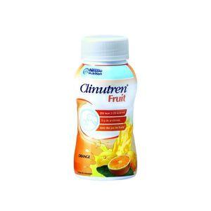 SUBSTITUT DE REPAS NESTLE Clinutren Fruits Orange - 4 Bouteilles d…