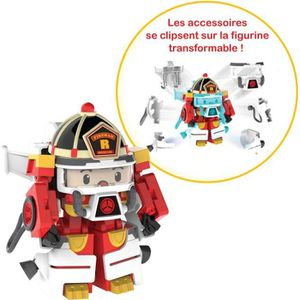 FIGURINE - PERSONNAGE ROBOCAR POLI  Véhicule Transformable Roy Action Pa