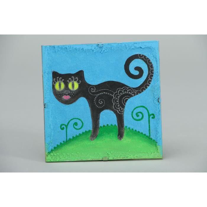 Tableau a l acrylique fait main original achat vente - Objet decoratif original ...