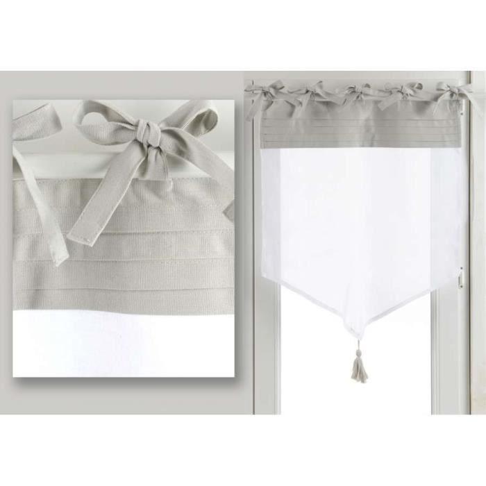 Brise bise lin blanc romance 50 70 vendus par 2 achat - Brise bise lin ...