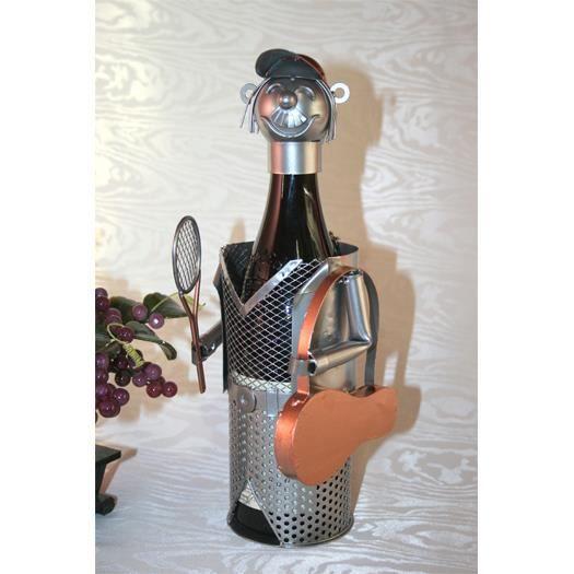 porte bouteille joueur de tennis achat vente porte bouteille porte bouteille joueur de t. Black Bedroom Furniture Sets. Home Design Ideas