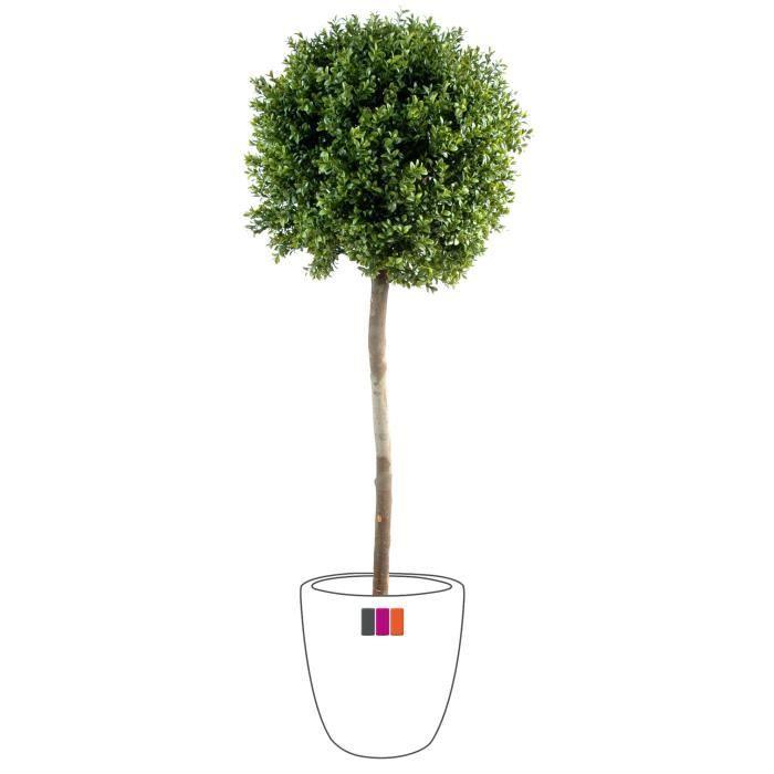 Buis artificiel tige boule 1m70 plante ext rieur achat vente fleur artificielle s ch e pvc for Plante arbuste exterieur
