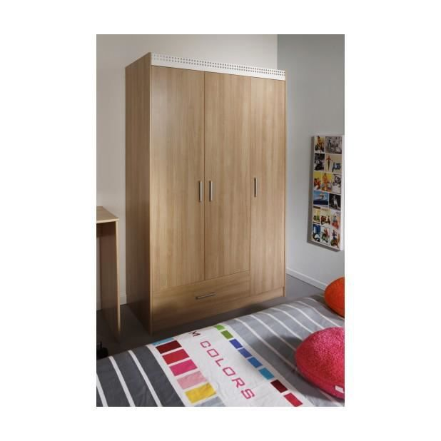 Giga armoire taille 112 x 180 x 51 cm achat vente for Armoire chambre 180 cm