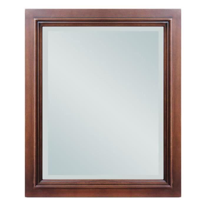 Sp 1 miroir avec cadre en bois massifarteferr achat for Miroir avec cadre en bois