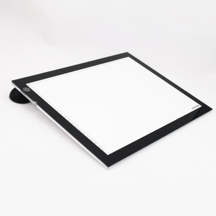 Huion led light pad tablette lumineuse a3 avec base for Table lumineuse a3