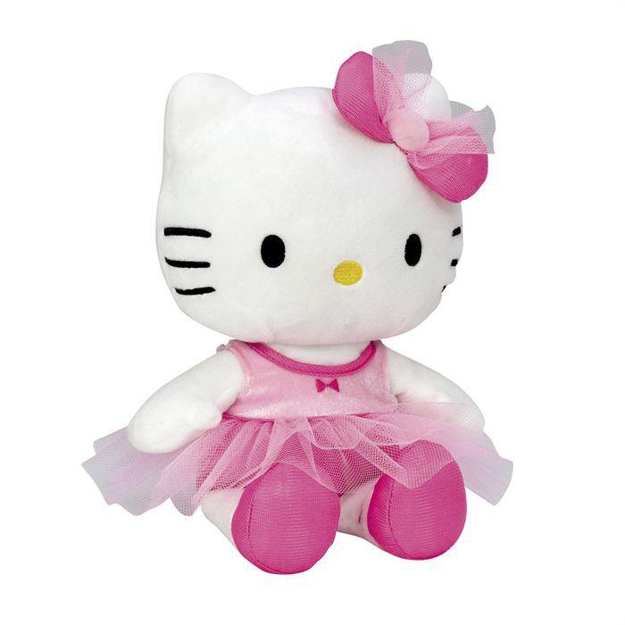 Peluche ballerine hello kitty 27 cm achat vente peluche cdiscount - Ballerine hello kitty ...