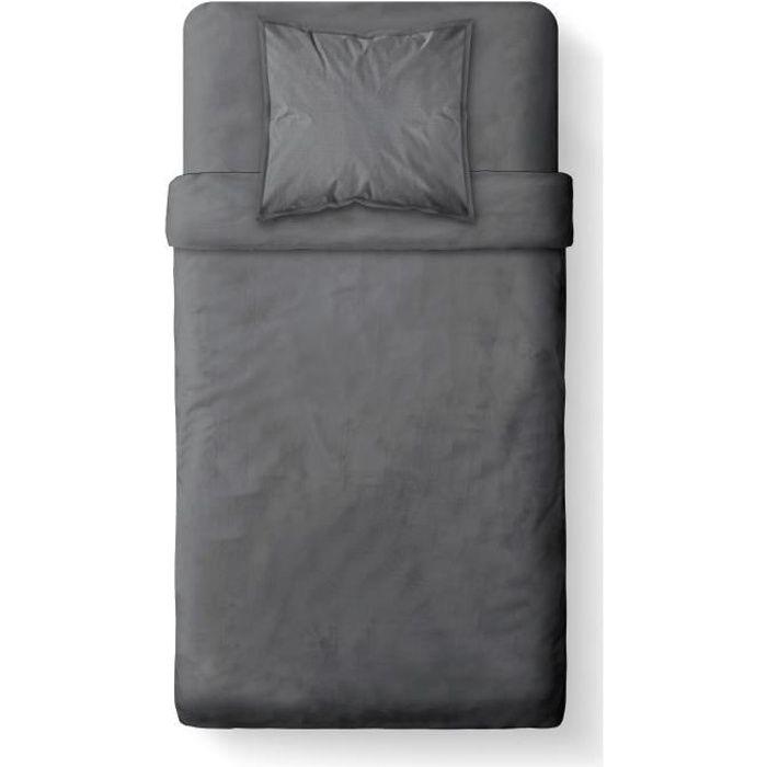 today housse de couette 100 coton 140x200cm canon de. Black Bedroom Furniture Sets. Home Design Ideas