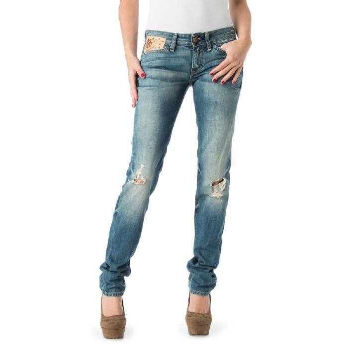 replay jean regular femme stone used achat vente jeans
