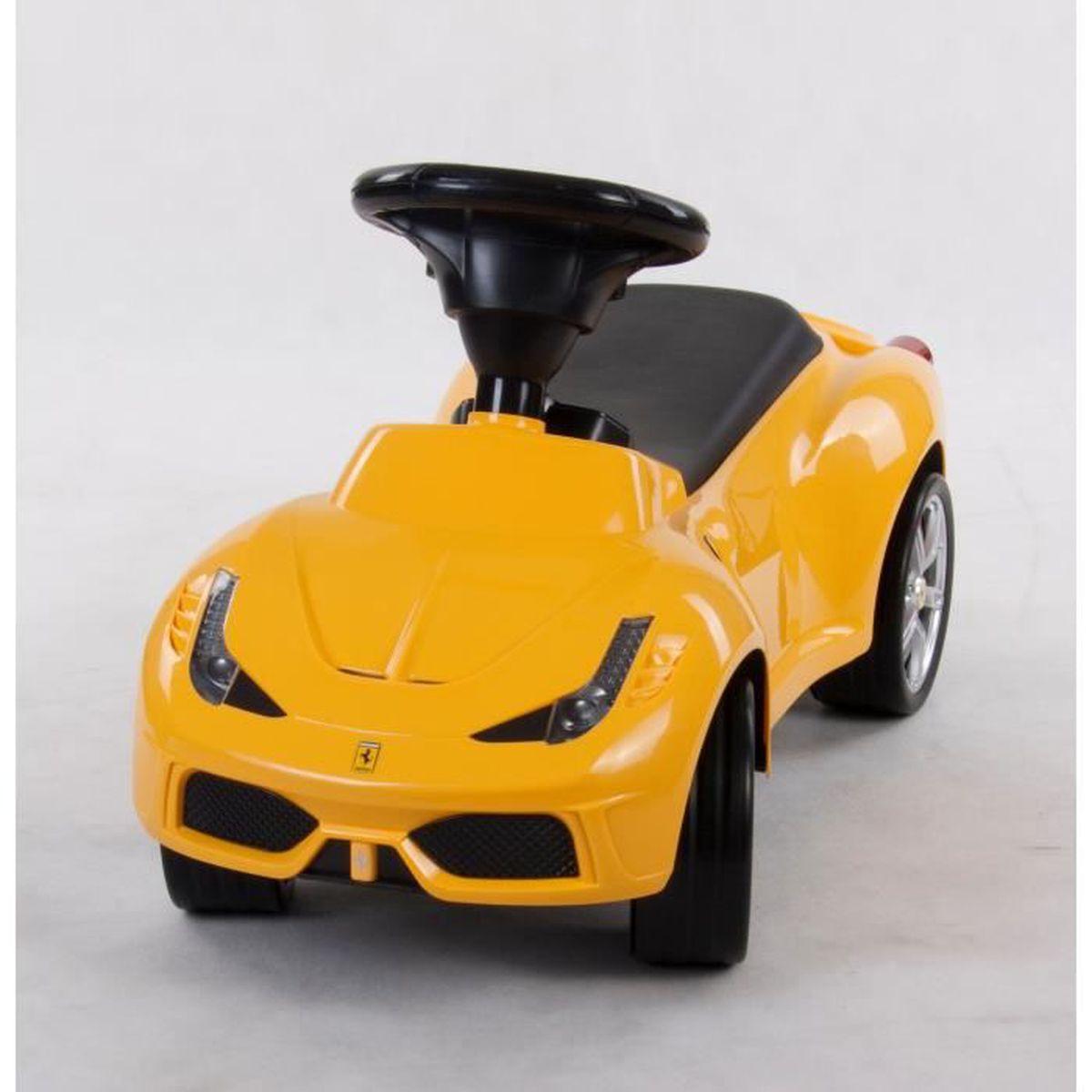 PORTEUR - POUSSEUR Porteur Ride-On en Plastique pour Enfant Ferrari J