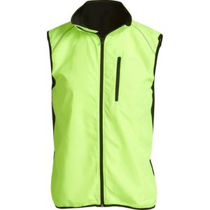 ATHLI-TECH Gilet By Night - Homme - Jaune Neon