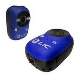 CAMÉSCOPE NUMÉRIQUE Liquid Image EGO 720HD 1080 WIFI (Bleu)