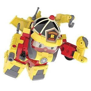 FIGURINE - PERSONNAGE ROBOCAR POLI Véhicule Transformable Roy Action Pac