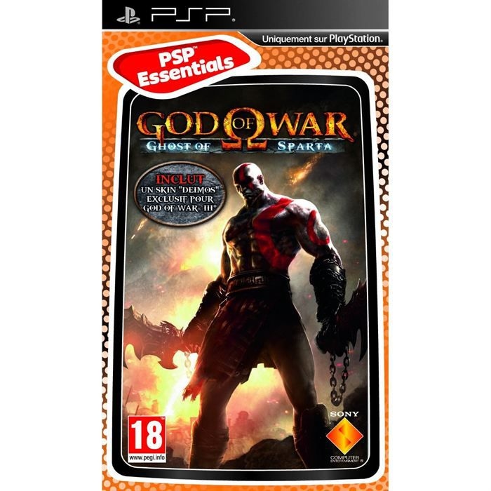 JEU PSP God Of War – Gods of Sparta Essential Jeu PSP