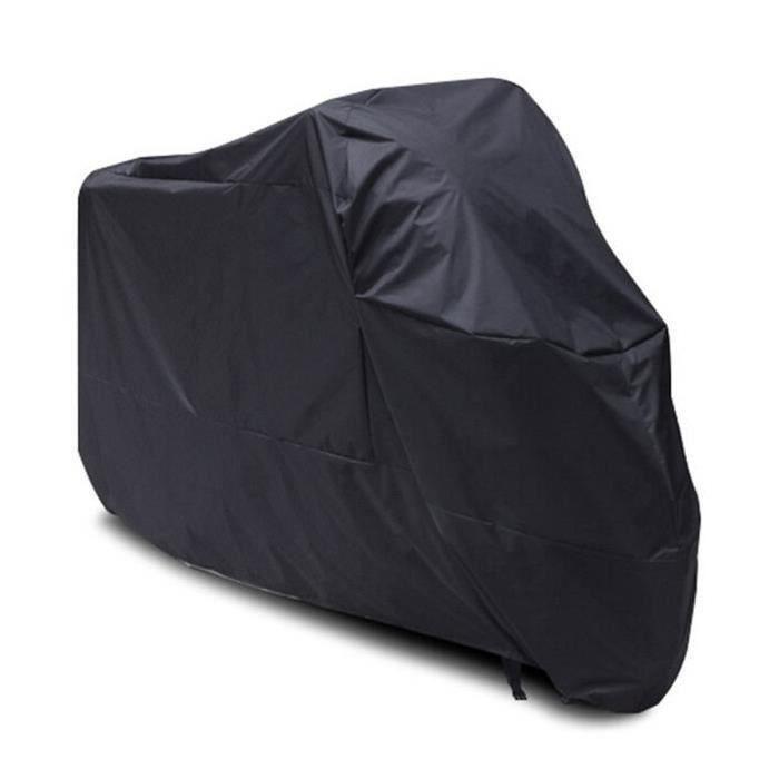 B che moto etanche 220cm taille l noir xcool art achat for Bache moto exterieur