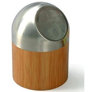 Poubelle salle de bain toilette wc en bambou achat for Poubelle de salle de bain bambou