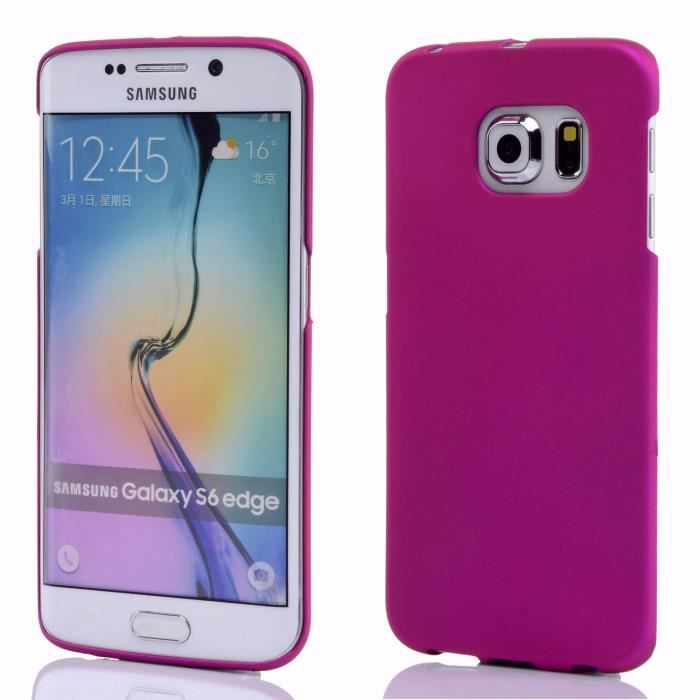 mooncase galaxy s6 edge case hard shell cover housse coque. Black Bedroom Furniture Sets. Home Design Ideas