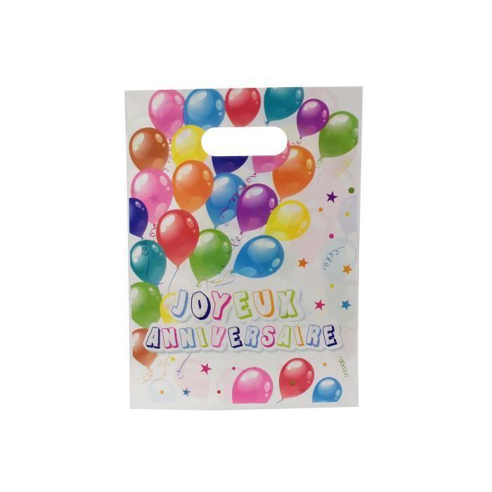 Sac anniversaire achat vente d co de f te murale plastique cdiscount - Sac bonbon anniversaire a fabriquer ...