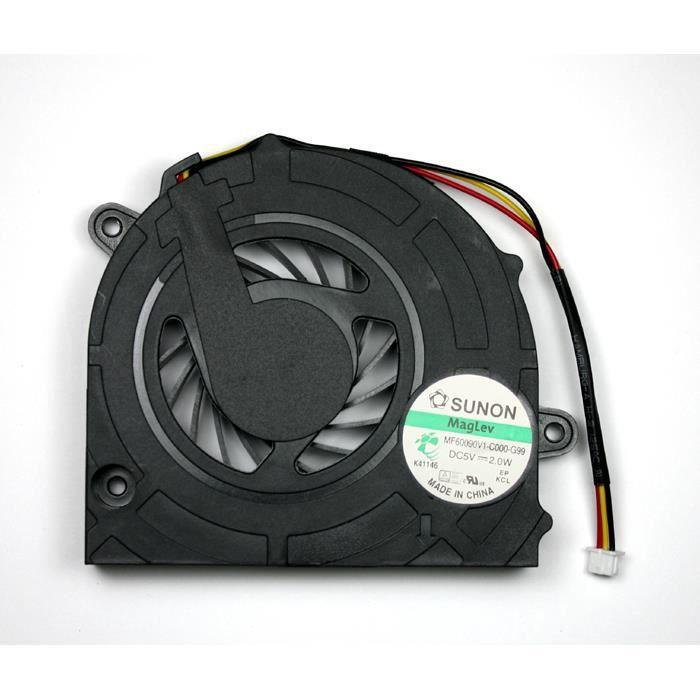 toshiba satellite l500 st55x2 15 6 pouces du mod le ventilateur pour ordinateurs portables. Black Bedroom Furniture Sets. Home Design Ideas