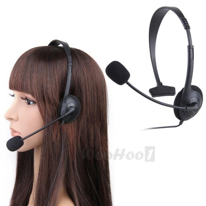 casque ecouteur avec micro microphone vid o jeu achat vente c ble connectique casque. Black Bedroom Furniture Sets. Home Design Ideas