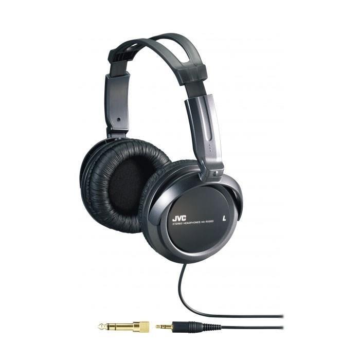jvc ha rx300 casque audio hifi extra bass noir achat vente casque couteur audio jvc ha. Black Bedroom Furniture Sets. Home Design Ideas