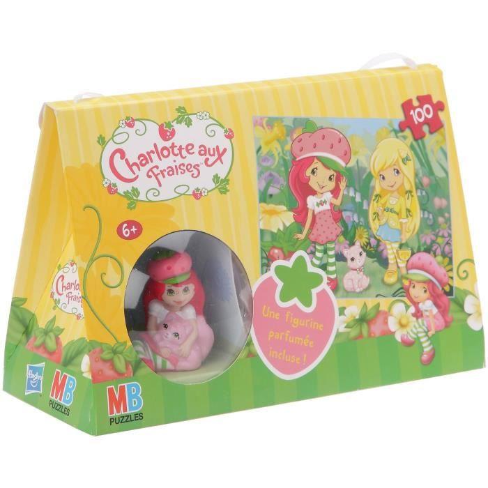 puzzle 100 pi ces charlotte aux fraises figurine achat vente puzzle cdiscount. Black Bedroom Furniture Sets. Home Design Ideas