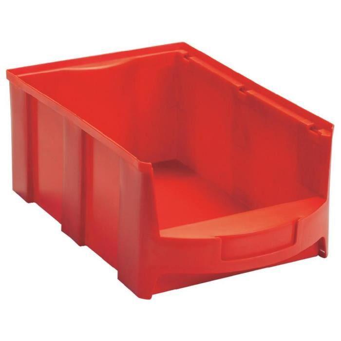 bac bec rouge 28 l viso star5r achat vente boite de. Black Bedroom Furniture Sets. Home Design Ideas