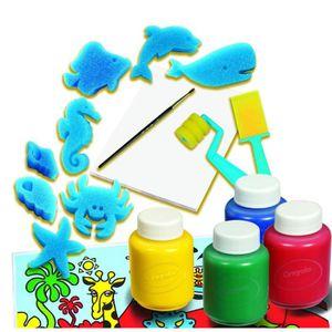coffret peinture enfant achat vente jeux et jouets pas chers. Black Bedroom Furniture Sets. Home Design Ideas
