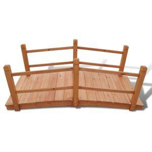pont en bois jardin achat vente pont en bois jardin. Black Bedroom Furniture Sets. Home Design Ideas
