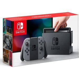 SORTIE CONSOLE NINTENDO SWITCH Console Nintendo Switch + paire de Joy-Con gris