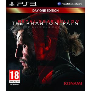 JEU PS3 Metal Gear Solid V : The Phantom Pain Edition Day