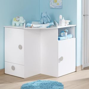 Table a langer commode achat vente table a langer for Table a langer d angle pas cher